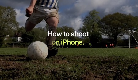 Apple captura la esencia del fútbol en sus últimos vídeos de la campaña 'Shoot on iPhone'