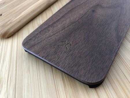 Carcasa Iphone Madera Oscura