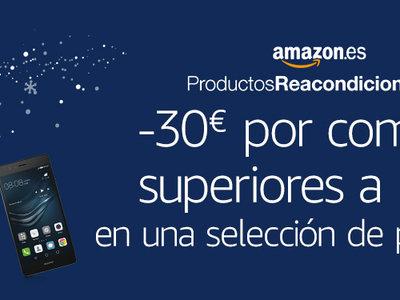 En Amazon, 30 euros de descuento por compras superiores a 100 euros en reacondicionados