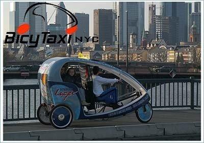 BicyTaxi, nuevo transporte en Nueva York