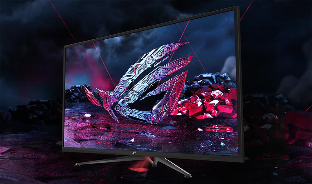 Haz sitio en tu mesa: los tres nuevos monitores gaming de ASUS son gigantes y soportan tasas de refresco de 144 Hz