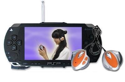 PSP: auriculares inalámbricos