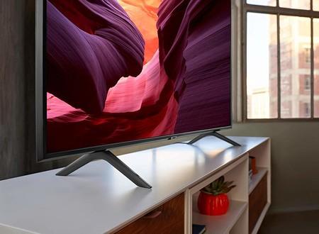 Ofertón en la smart TV 4K de 2019 Samsung QLED 55Q60R por 932 euros en Amazon