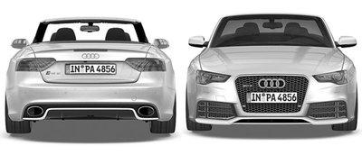 El Audi RS5 se descapotará el próximo año