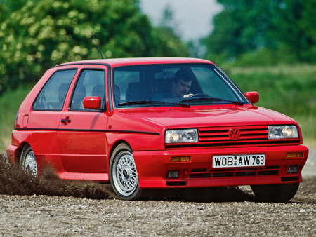 Volkswagen Golf Rallye G60 1