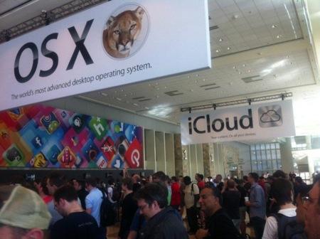 Primeras imágenes desde la WWDC2012 en San Francisco