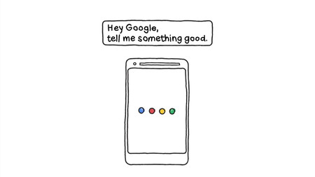"""""""Hey Google, dime algo bueno"""", la nueva función experimental del Asistente para recibir buenas noticias"""