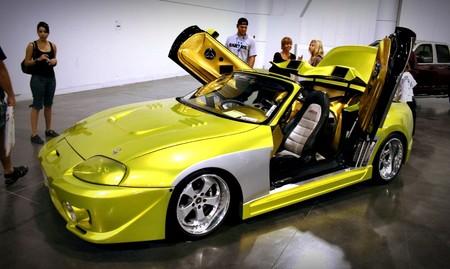 Supra tuneado amarillo