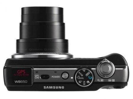 Samsung WB650 con GPS