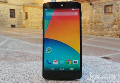 El nuevo Nexus 5, a examen en Xataka