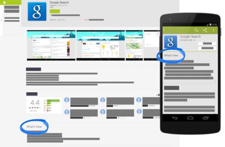 Google Play ya puede mostrar las novedades de las versiones estable, Beta o Alfa de una aplicación