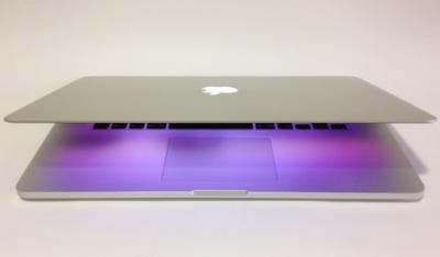 MacBook Pro retina mid 2014 comparado con la generación anterior