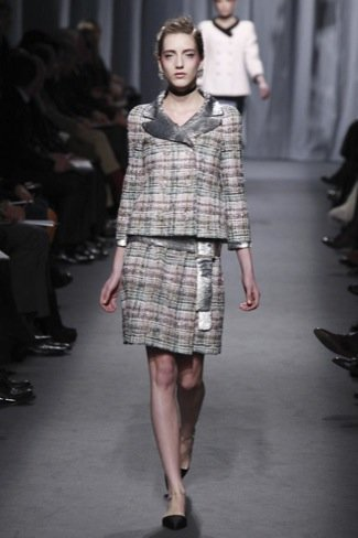 Chanel Alta Costura Primavera-Verano 2011 tweed