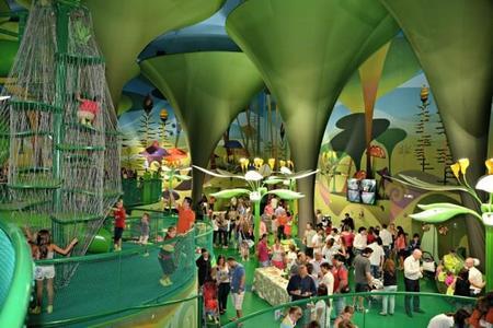 The magic forest es un parque infantil mágico en el interior de Kinépolis de Madrid