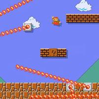 El primer nivel de Super Mario Bros. es recreado en Super Mario Maker 2 con una versión de lo más infernal