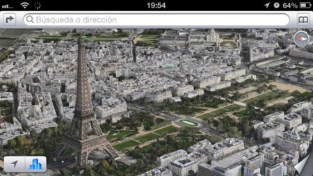 Ya puedes sobrevolar París en tres dimensiones gracias a los mapas de Apple