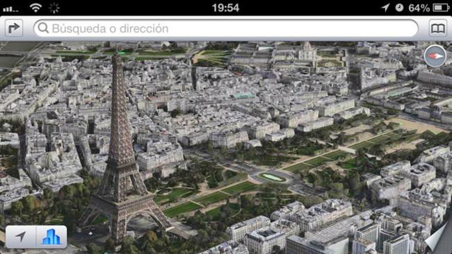 Flyover Paris, Torre Eiffel en 3D