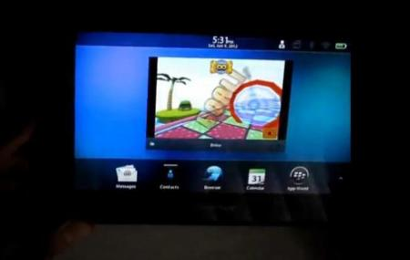 BlackBerry PlayBook es capaz de ejecutar aplicaciones iOS nativas