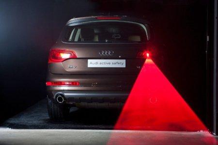 Lus posterior de niebla láser (Audi)