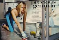 Gemma Ward, una ama de casa muy elegante