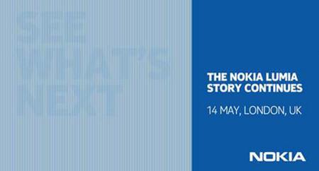 Nokia prepara un nuevo evento sobre Lumia para el 14 de mayo