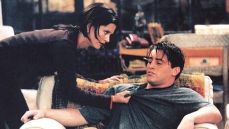 Joey and monica
