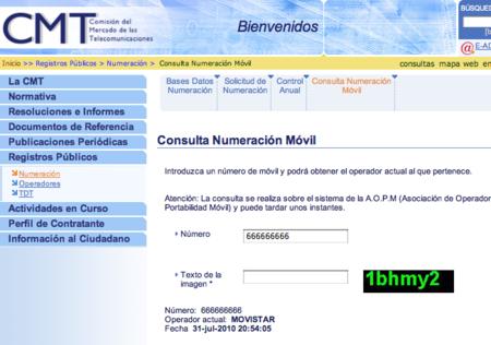 La CMT lanza una aplicación web para averiguar de qué operador es cualquier número