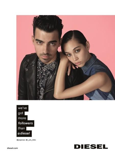 Emojis, hashtags y un Jonas Brother en la campaña SS2016 de Diesel