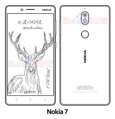 Nokia 7 esquema filtración