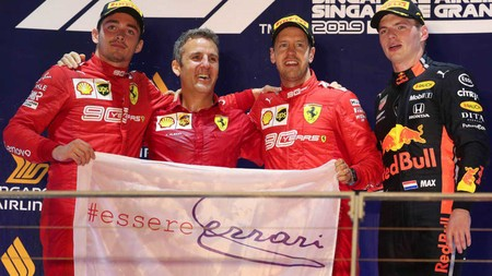 Vettel Singapur F1 2019