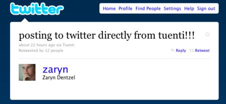 Pronto podremos publicar en Twitter directamente desde Tuenti