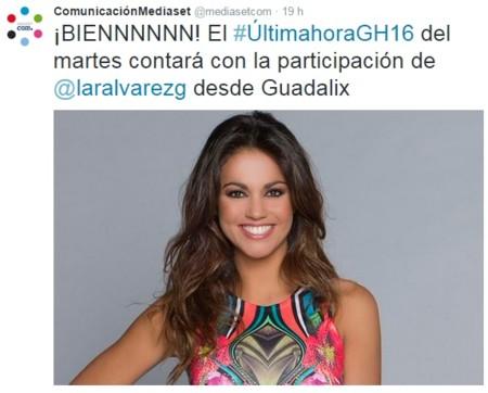 Mediaset Lara Alvarez