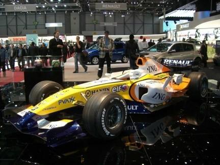 La Fórmula Uno en el Salón de Ginebra