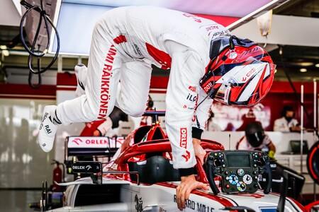 Raikkonen Portimao F1 2020
