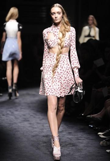 Miu Miu, Primavera-Verano 2010 en la Semana de la Moda de París