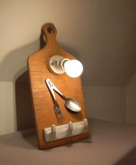 Garbage antiguos utensilios de cocina que iluminan for Utensilios de cocina originales