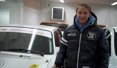El garaje en Suecia de Petter Solberg