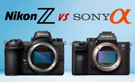 La lucha de las Full Frame sin espejo acaba de empezar: Sony tiene ventaja, pero menospreciar a Canon y Nikon sería un error
