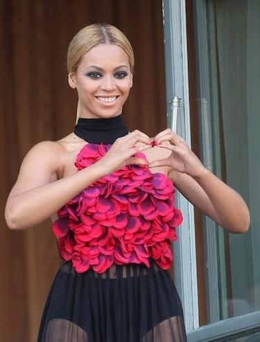 Beyonce, chic-style en París