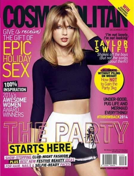 Taylor Swift se hace los Cosmopolitan de dos en dos