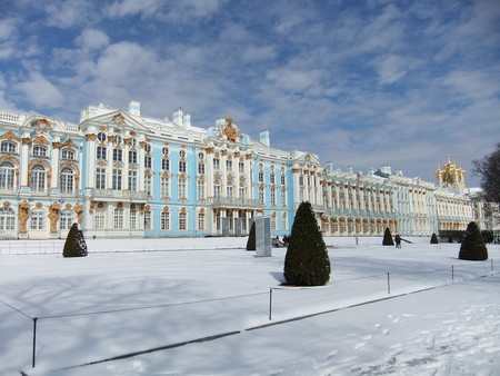 San Petersburgo Nieve