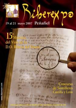 Riberexpo 2007, XV Muestra del Vino de la D.O. Ribera del Duero