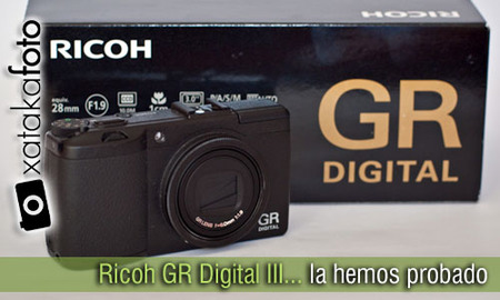 Ricoh GR Digital III, la hemos probado