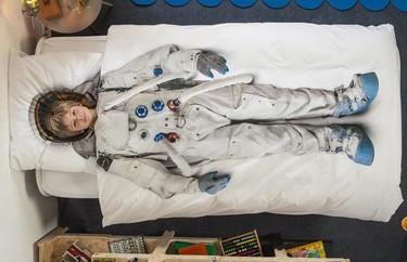Divertidas fundas nórdicas para astronautas y princesas
