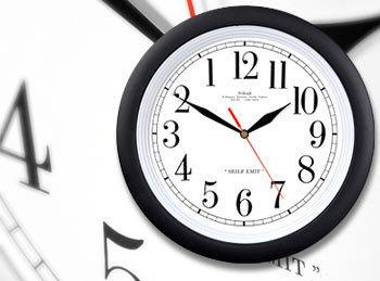 El reloj contracorriente