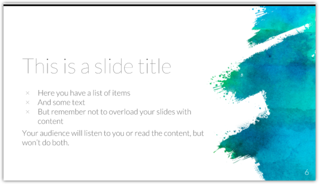 Free Art Powerpoint Template Or Google Slides Theme 00