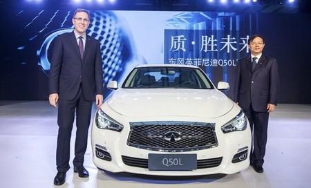 China se convierte en el tercer país donde Infiniti fabrica sus modelos