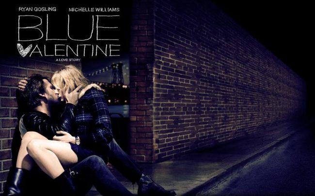 Un cartel de Blue Valentine