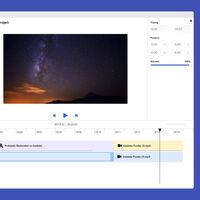 Mastershot es un editor de vídeo online gratis, fácil de usar y que no añade horrendas marcas de agua a tus vídeos