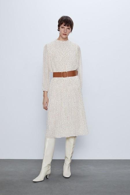 Vestido Zara Lunares 2